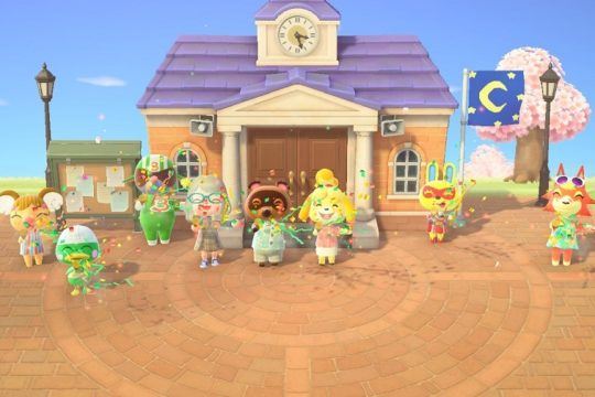 Animal Crossing, Resident Services Ceremony!